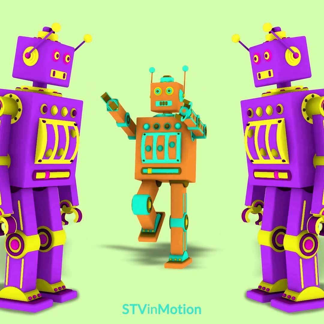 3D Toy Robots