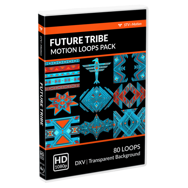Future Tribe VJ loops pack cover