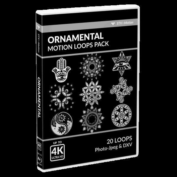 Ornamental Vj loops pack cover