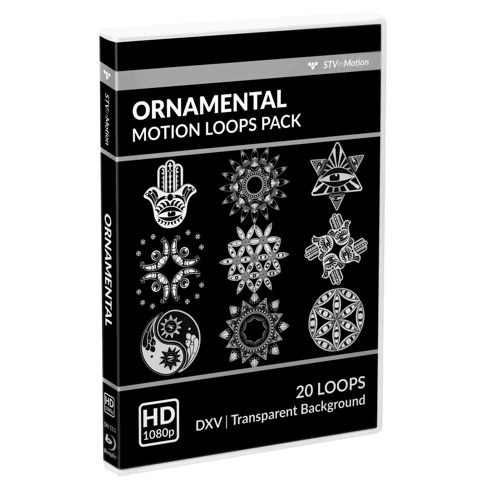 Ornamental Vj loops pack cover