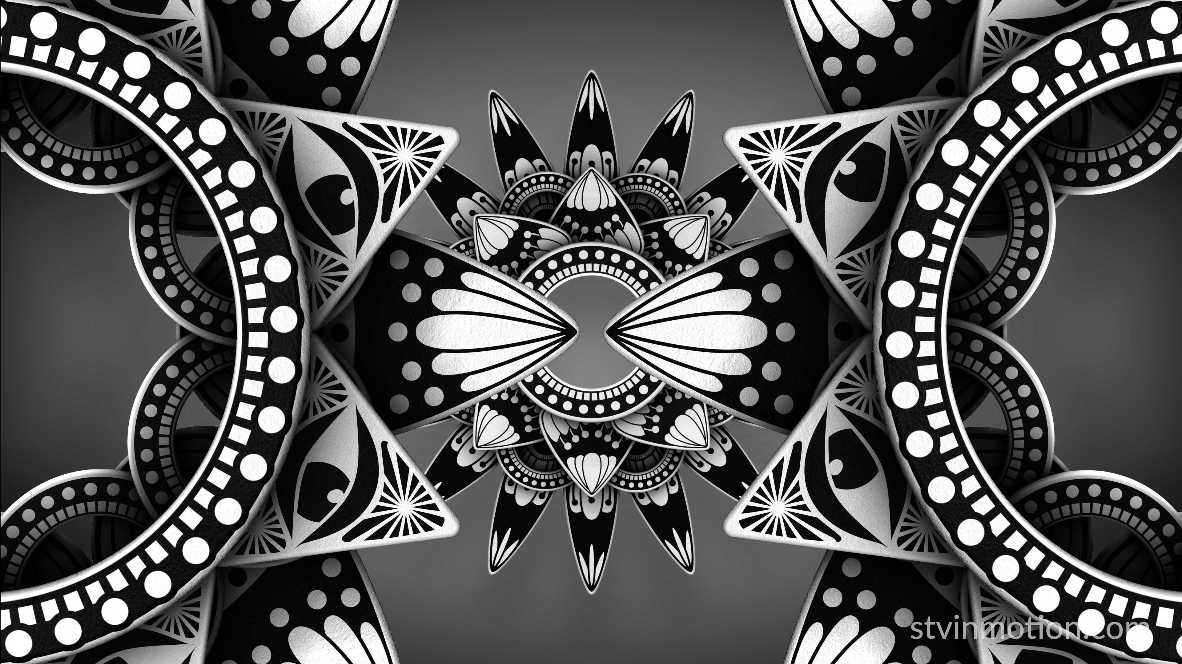 Eye of Providence mandala combination
