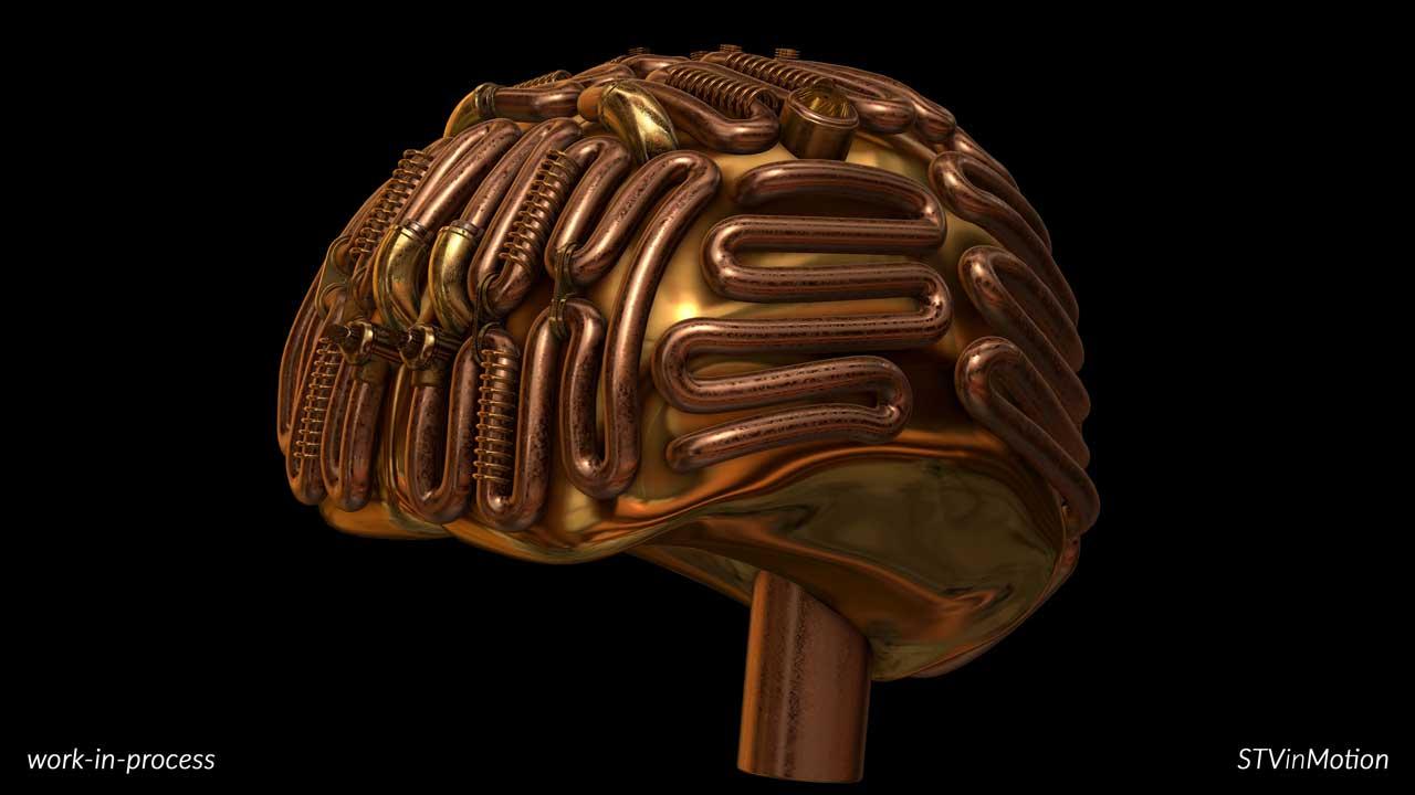 Making a 3D Brain model