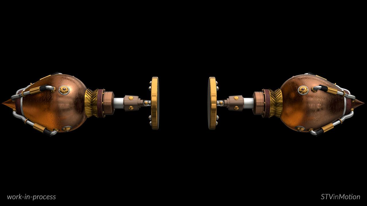 3D Piston models