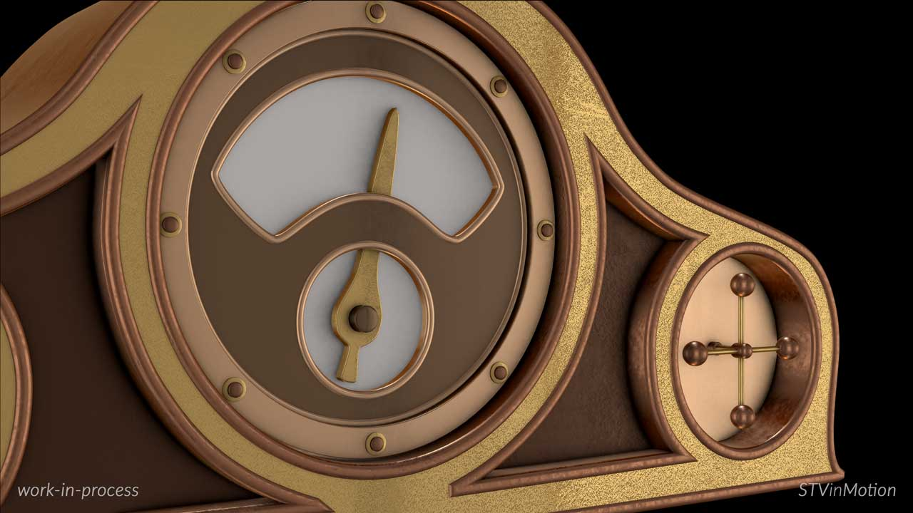Making a 3D Mantel Clock model
