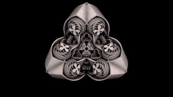Gothic fractal