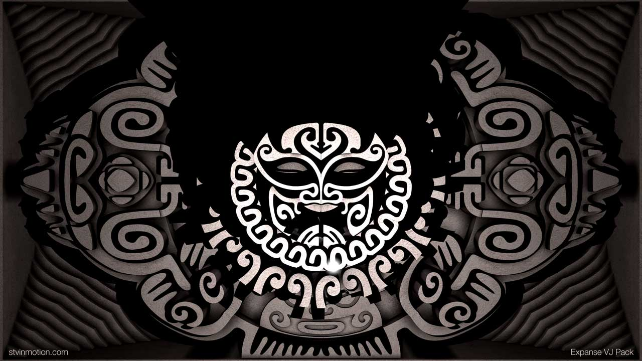 Samoan Mask animation