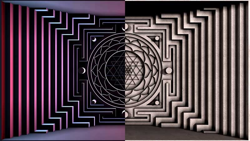 Download these 2 Yantra free VJ loops