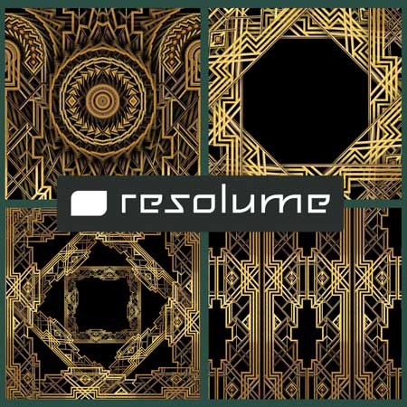 Art Deco Resolume VJ tutorial