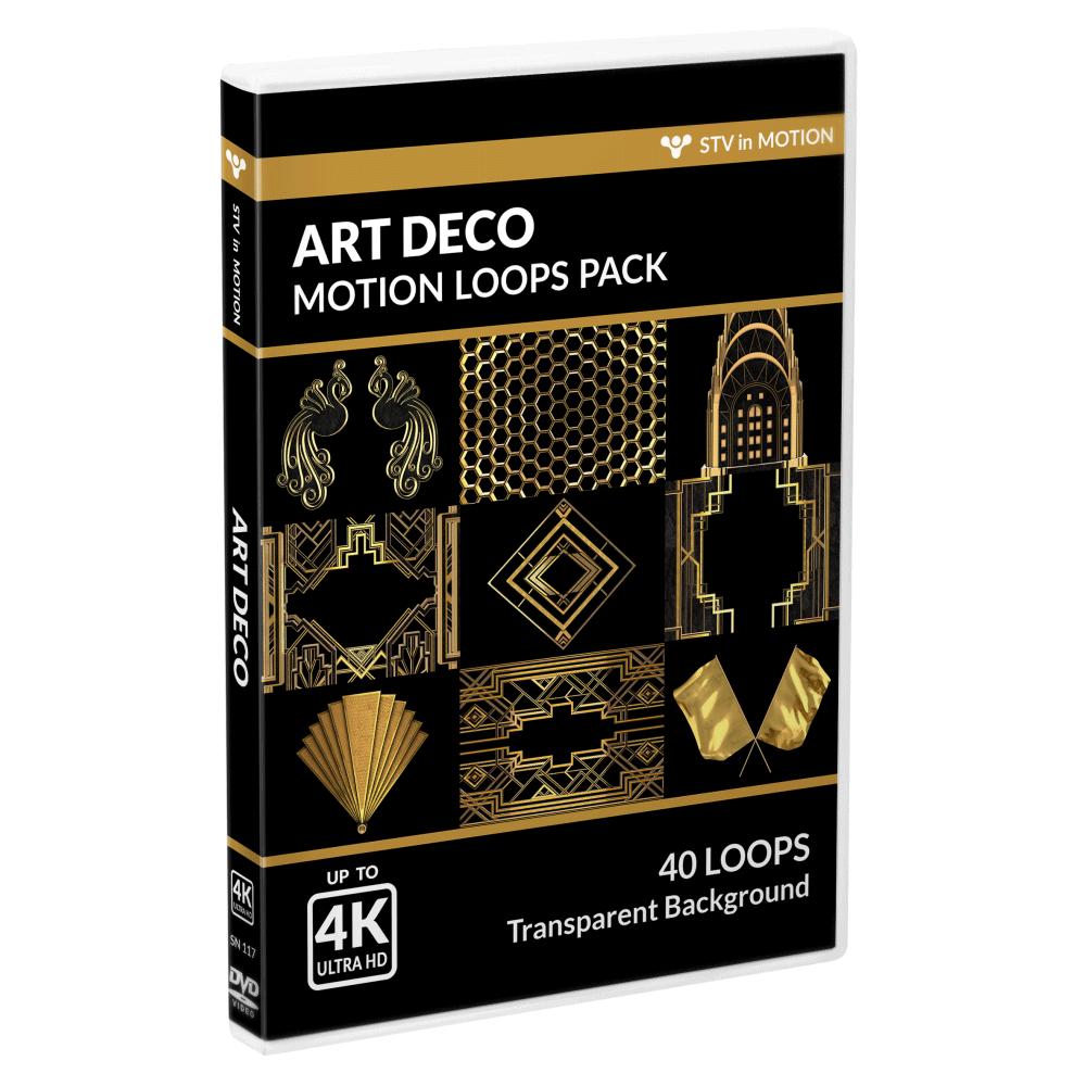 Art Deco VJ loops Pack